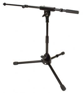 Short Boom Microphone Stand (Hire Cost per Day)